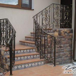 Перила для лестницы ХК-ПР-107