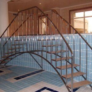 Лестница в бассейн Н-БЛ-1