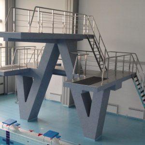 Лестница в бассейн Н-БЛ-5