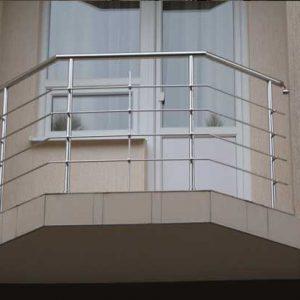 Ограждение балкона с 4 ригелями Н-ОБ-6