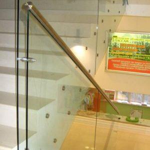 Ограждение со стеклом Н-ОС-21