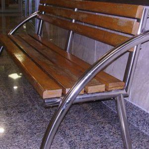 Скамейки из нержавеющей стали