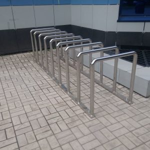 Велопарковка на 9 мест Н-ВЕ-12