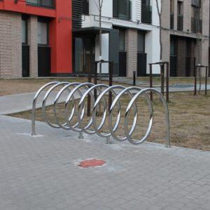 Велопарковка на 7 мест Н-ВЕ-13