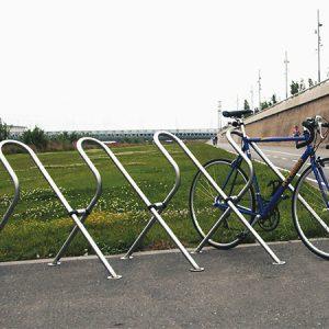 Велопарковка на 4 места Н-ВЕ-4