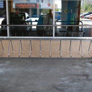 Велопарковка на 10 мест Н-ВЕ-5