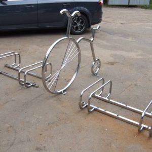 Велопарковка на 4 места Н-ВЕ-6