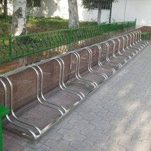 Велопарковка на 16 мест Н-ВЕ-8