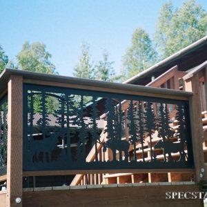 Ограждение балкона Р-ОБ-11