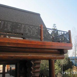 Ограждение балкона Р-ОБ-57
