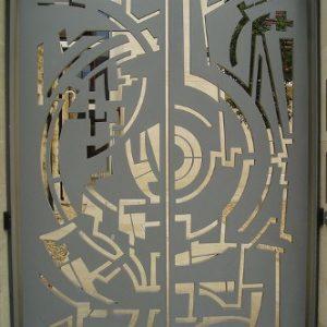Межкомнатные двери с лазерной резкой